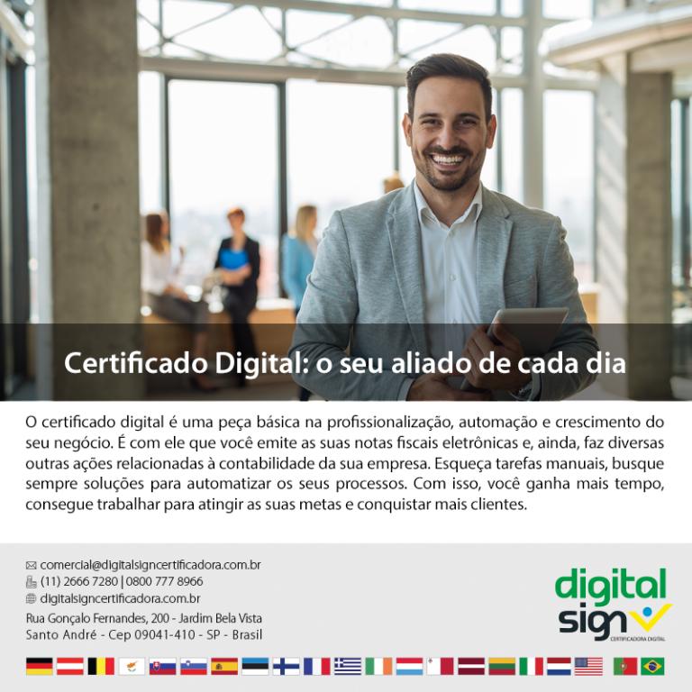 Certificado Digital: o seu aliado de cada dia